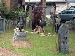 diy scary halloween decorations outdoor halloween fun party
