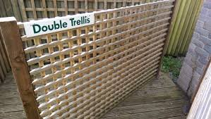 double trellis chariot fencing