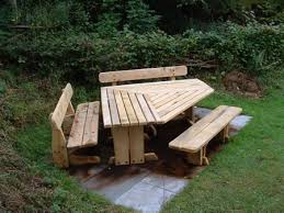Wooden Octagon Picnic Table Plans by 34 Best Picnic Tables Images On Pinterest Picnics Outdoor