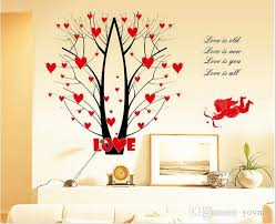 cupid trees wall stickers can be removed waterproof pvc