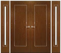 door design painting trim white oak with unique wood interior