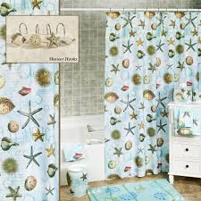 Seashell Shower Curtains Lace Seashell Shower Curtain Seashell Shower Curtain That Add