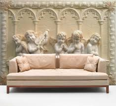 details about 3d sculpture angel stone wall paper wall print decal 3d sculpture angel stone wall paper wall print decal wall deco indoor wall mural