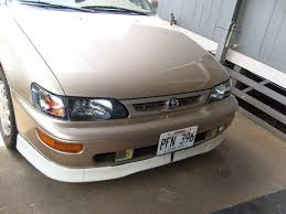 1996 toyota corolla front bumper 808gts 1996 toyota corolla specs photos modification info at