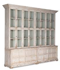 large display cabinet with glass doors farmhouse bookcase display cabinet glass white glass doors doors