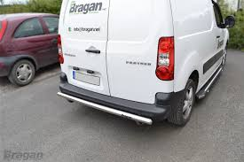 peugeot partner try the small to fit 08 16 peugeot partner tepee stainless steel rear back