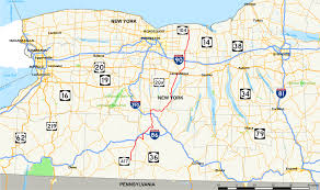 New York State Map New York State Route 21 Wikipedia