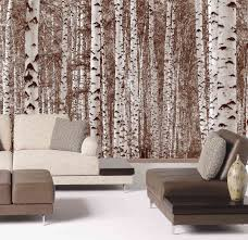 28 birch tree wall mural birch trees neutral wall mural birch tree wall mural birch forest trees sepia wall mural 12 wide by 8 high ebay