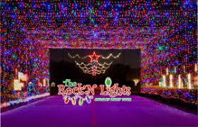 old settlers park christmas lights rock n lights holiday light tour christmas towne city of round rock