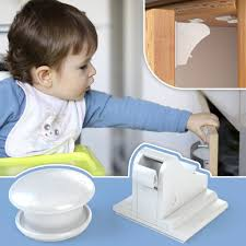 baby safety magnetic cabinet locks outlet covers no drilling 4