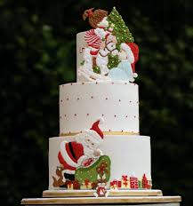 Christmas Cake Decorating Articles by Competitions Pretty Witty Cakes