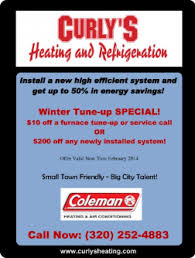 Winter Deals On S Winter Tune Up Special February Deals January February
