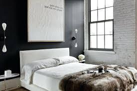 meuble blanc chambre chambre mur noir idaces daccoration intacrieure farikus 13 couleur