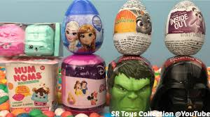 where to buy chocolate eggs with toys inside kids toys num noms zootopia inside out chocolate eggs