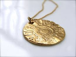 custom gold necklace made gold necklace sted gold pendants by julian