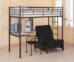 Loft Bed With Desk For Teenagers Best 25 Bunk Bed With Futon Ideas On Pinterest Loft Bed Desk