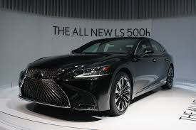 all new lexus ls luxury 2018 lexus ls 500h can hit 60 mph in 5 4 seconds autoguide com news
