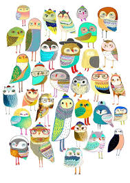 printable owl art 1838 best owls and other birds images on pinterest bird