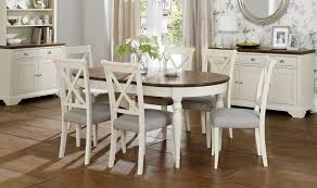 Glass Extendable Dining Table And 6 Chairs Furniture Modern White Gloss Extending Dining Table With 4 White