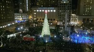 sf christmas tree lighting 2017 christmas tree lighting union square san francisco 2013 youtube