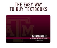 Online Barnes And Noble Gift Card Texas A U0026m University Official Bookstore Textbooks Rentals