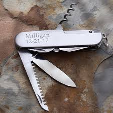 Personalized Pocket Knife Personalized All Purpose Pocket Knife Multi Functions