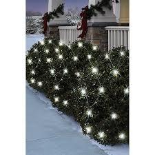 led christmas lights clearance walmart holiday time 70 count led net christmas lights pure white walmart com