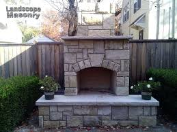 Stone Fireplace Kits Outdoor - outdoor fireplace kits home depot contractor series outdoor