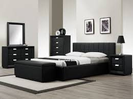 Rustic Contemporary Bedroom Furniture Bedroom 2017 Sleepland Rossi Black Leather Bed White Bedroom