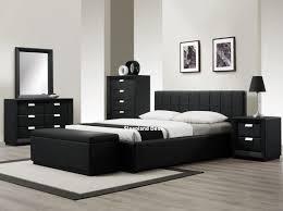 Modern Bedroom Furniture Uk by Bedroom 2017 Sleepland Rossi Black Leather Bed White Bedroom
