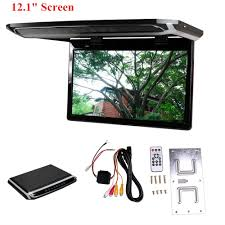 lexus rx400h dvd player 12 1inch overhead roof monitor car vehicle video dvd player with