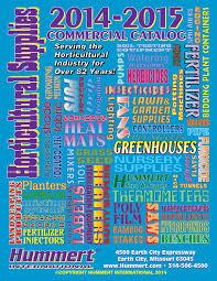 2014 2015 horticultural supplies catalog by hummert international