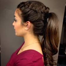 Simple But Elegant Hairstyles For Long Hair by Prom Ponytails For Long Hair Hair Style And Color For Woman