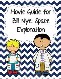 video worksheet movie guide for bill nye space exploration