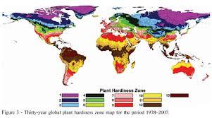 Gardening Zones Uk - plant hardiness zone map europe plant hardiness zone map europe