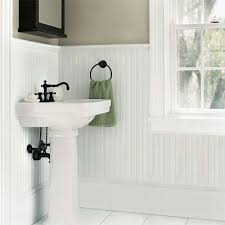 bathroom ideas with wainscoting wainscot paneling in bathroom small bathroom designs with