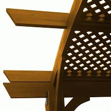 Sonoma Canopy by Shop Outdoor Greatroom Company Sonoma Redwood Pergola Canopy At