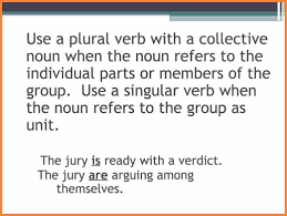 4 subject verb agreement with collective nouns purchase