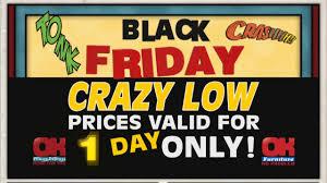 furniture sale on black friday explosive black friday sale 2016 ok furniture youtube