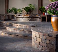 Belgard Fire Pit by Stepping Up To The Next Level Outdoor Living By Belgard