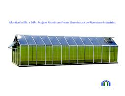 6ft X 8ft Greenhouse Mojave 8ft X 24ft Greenhouse Aluminum Frame