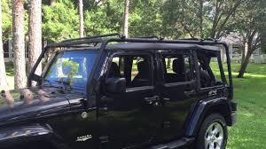 jeep safari rack smittybilt src roof rack youtube