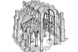 Medieval Cathedral Floor Plan Gothic What Ideas Transformed Medieval Buildings
