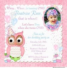 owl birthday party balloon owl birthday party invitation one happy pink cupcakes