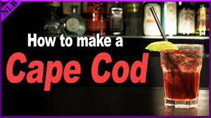 how to make a cape cod popular cocktail recipes youtube