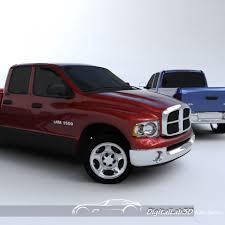 Dodge Ram Models - dodge ram pickup 3d model cgstudio