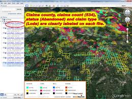 Arizona Google Maps by Arizona Gold Map Arizona Gold Claims Map Arizona Placer Gold Map