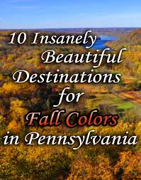 Pennsylvania Natural Attractions images 10 insanely beautiful destinations for fall foliage in pa fall jpg