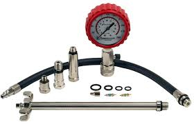 professional compression tester kit 2 u201d white gauge dial