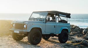 icon 4x4 defender land rover is producing a defender bible valet